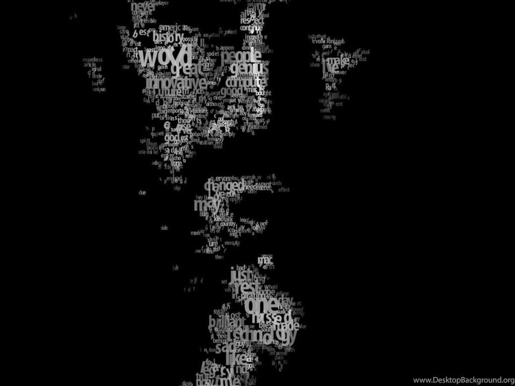 Download typeface portrait of steve jobs hd wallpapers for - Steve jobs wallpaper download ...