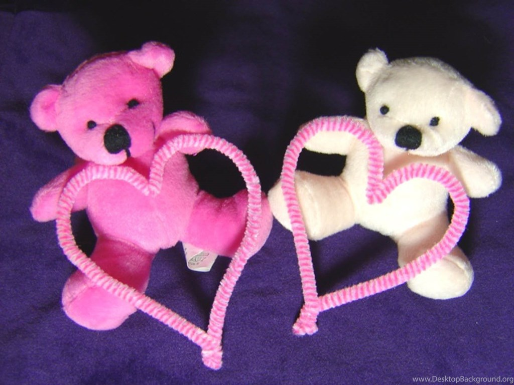 Two Love Teddy Bear Hd Images Free Hd Wallpapers Desktop Background