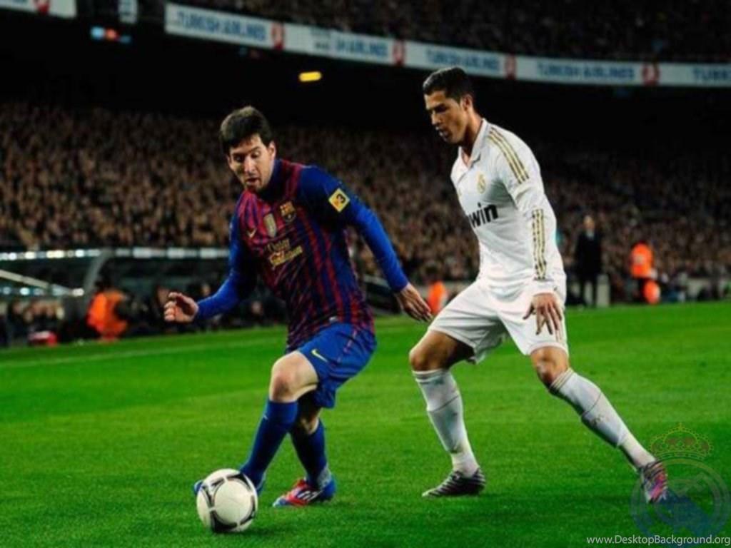 Lionel Messi Vs Cristiano Ronaldo Latest HD Wallpapers 2013 Desktop Background