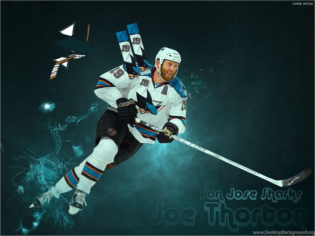 Joe Thornton San Jose Sharks Wallpapers Hockey Sport