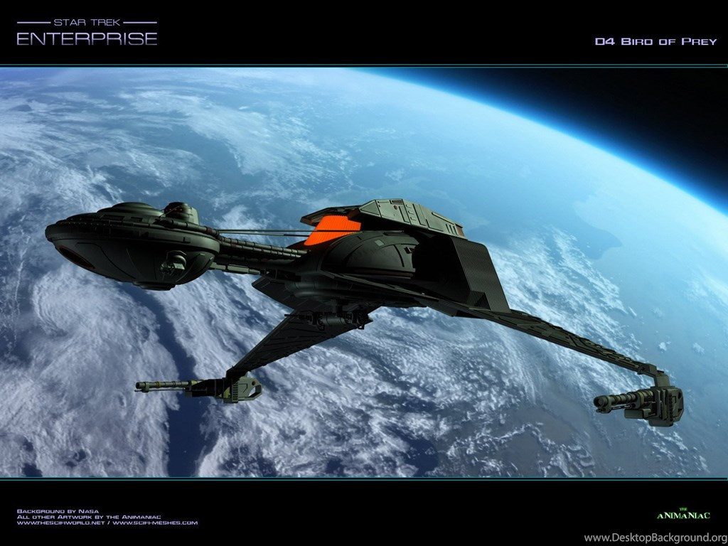 Bird Of Prey Klingons Wallpapers 12879571 Fanpop Desktop Background