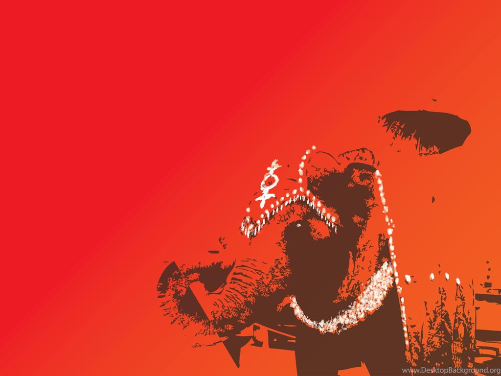 Indian Wedding Elephant Art Free Desktop Wallpapers Desktop Background