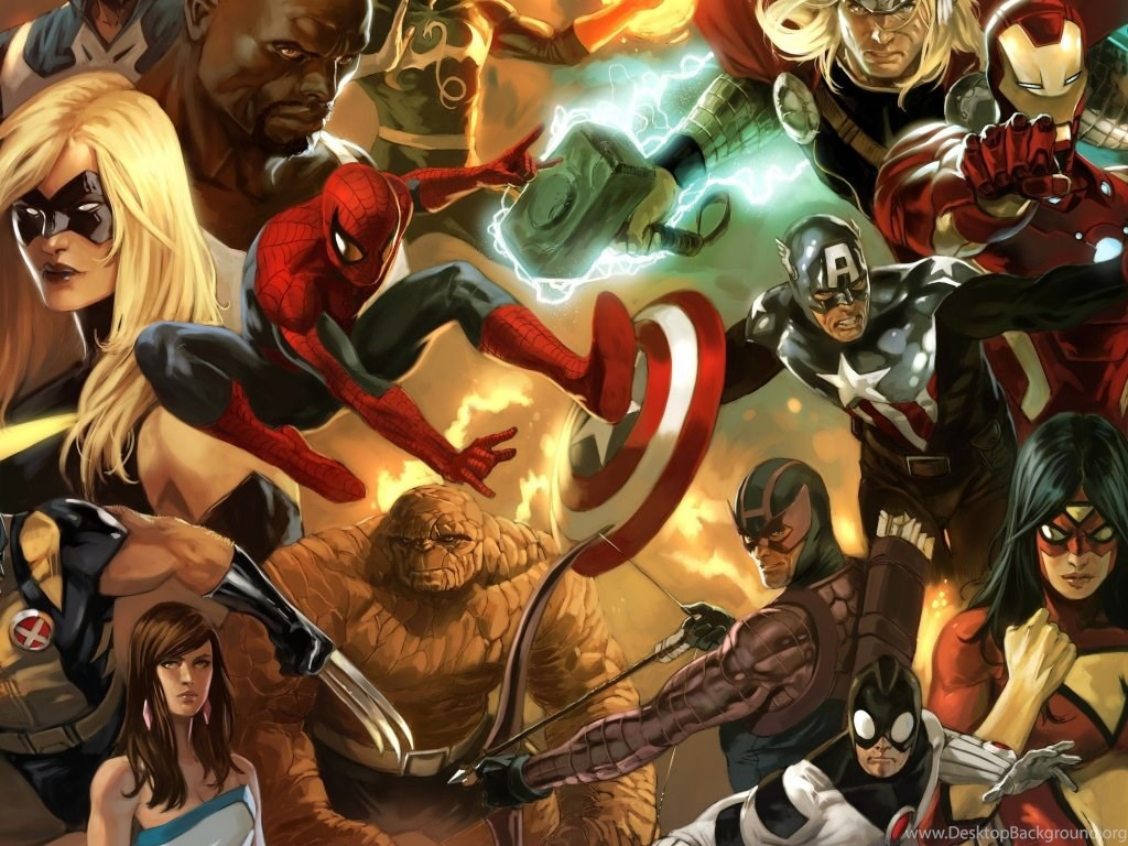 11 Best Hd Wallpapers From The Marvel Universe That You: Marvel Comics Characters HD Desktop Wallpapers : Dual