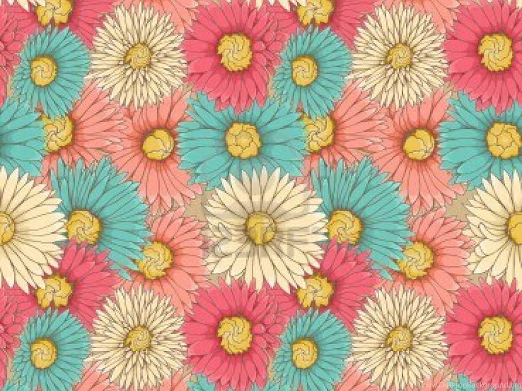 Vintage Flowers Tumblr Themes Desktop Background