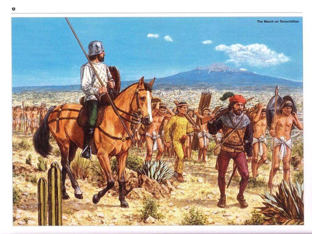 the spanish conquisxat
