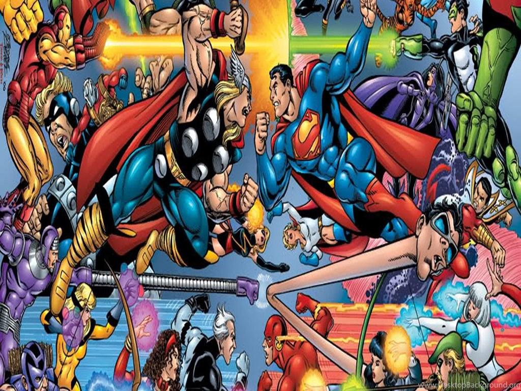 Marvel Vs DC Galaxy S5 Wallpapers 1080x1920 Desktop Background