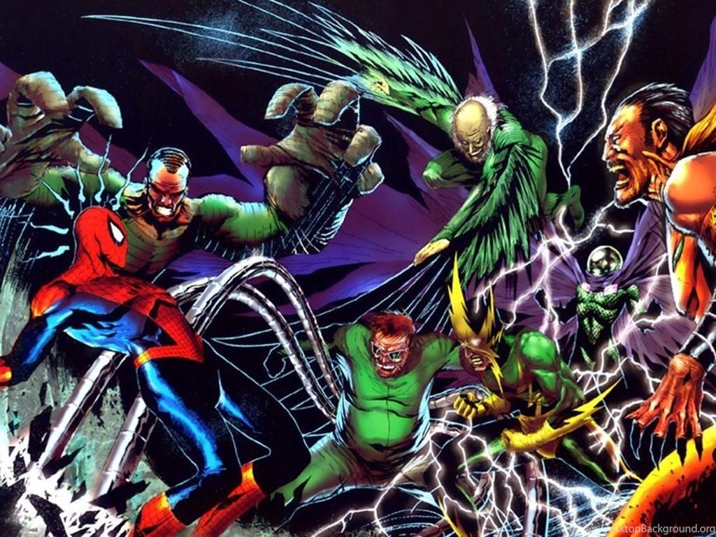 Toshiba Excite 10 Tablet Wallpaper Spiderman Villains Mobile