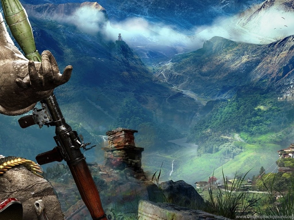 Far Cry 4 4k Ultra Hd Wallpapers Desktop Background