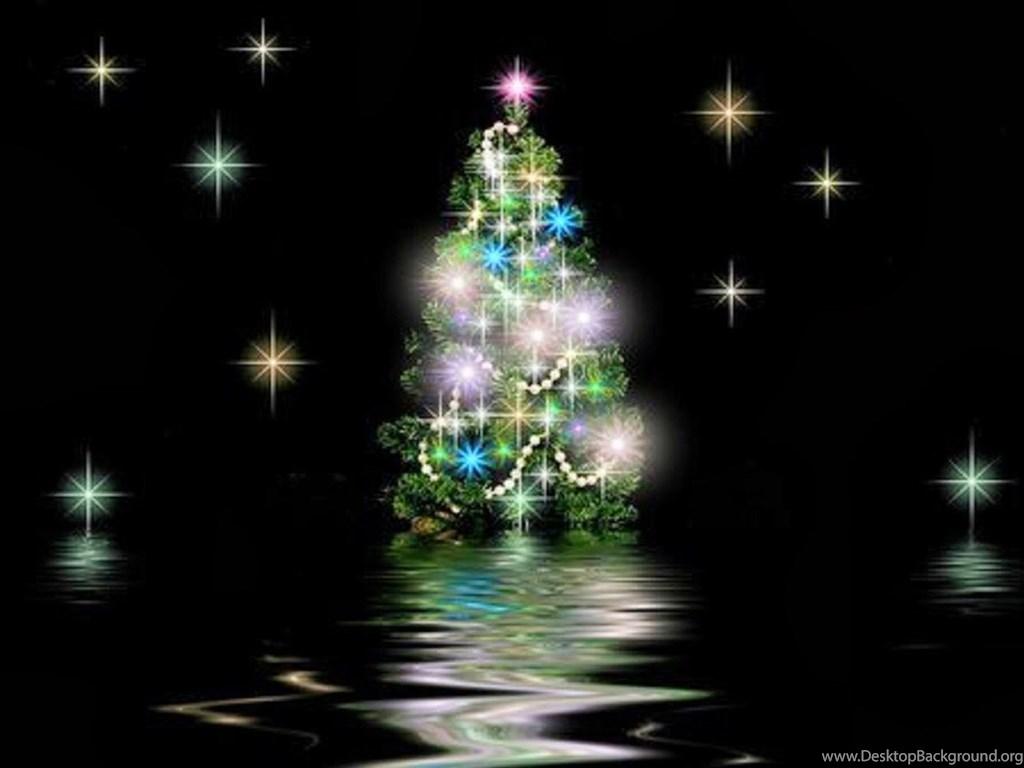 3d Christmas Tree Desktop Wallpaper 5.jpg Desktop Background
