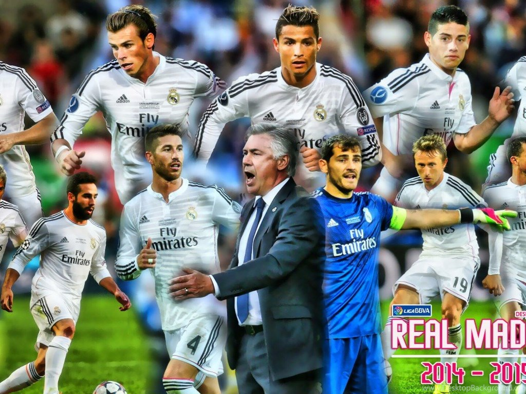 Real Madrid Team Hd Wallpapers