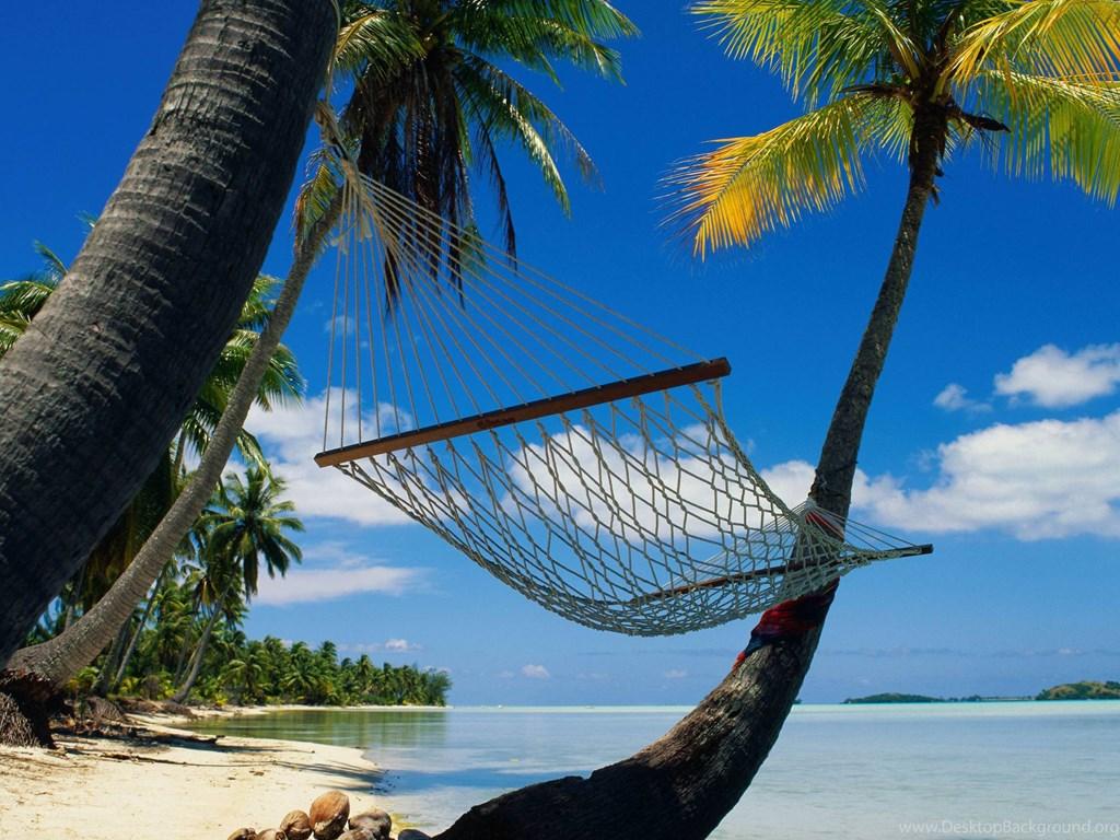 Hammock On Beach Wallpapers: Tropical Beach Pictures Hammock Wallpapers Desktop Kemecer