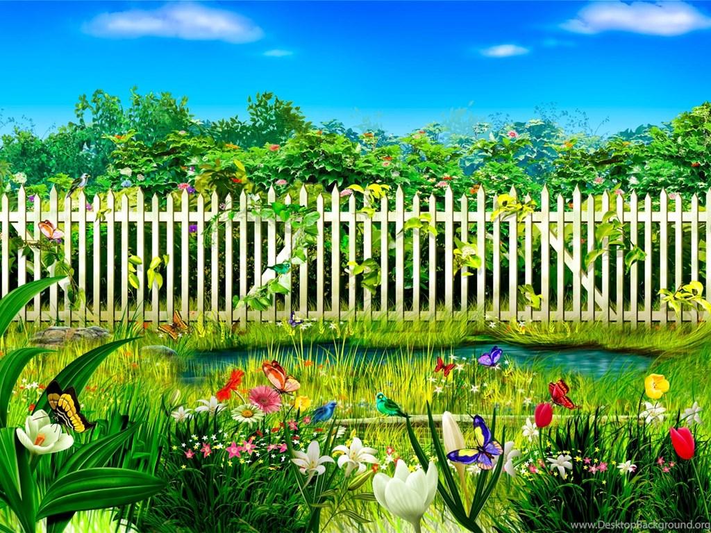 Flower Garden Wallpapers Free Download Wallpapers Hd Base Desktop