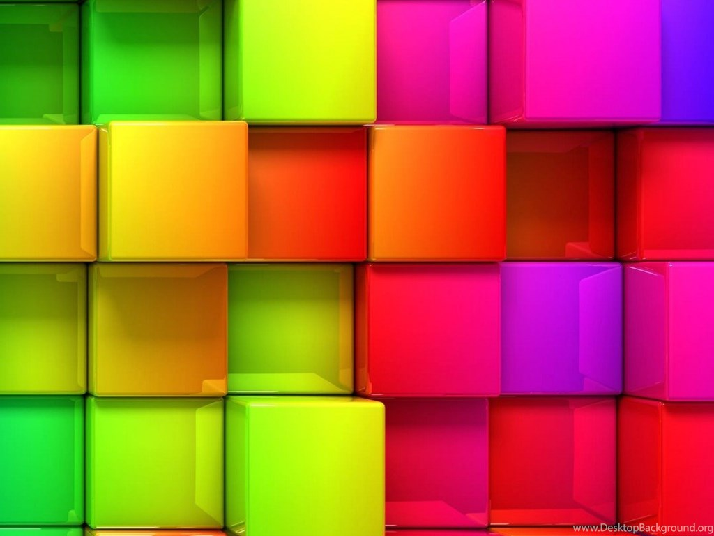 Download Cubic Rainbow HD Wallpapers For Moto X HDwallpapers