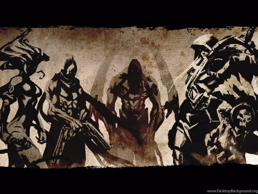 Video Games, War, Death, Fury, Darksiders, Darksiders 2 ...