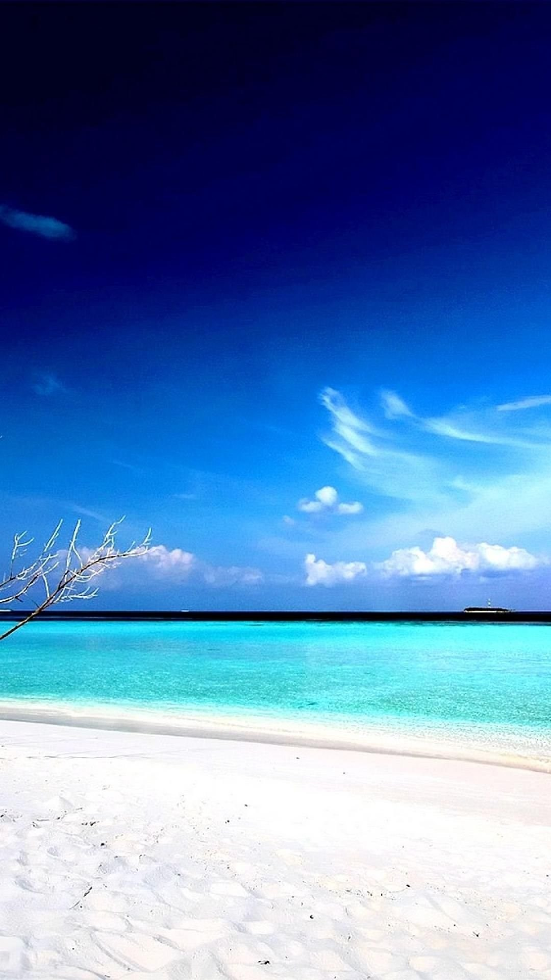 Hd Beach Wallpapers 1080p Nature Beach Iphone 6 Plus 1080x1920