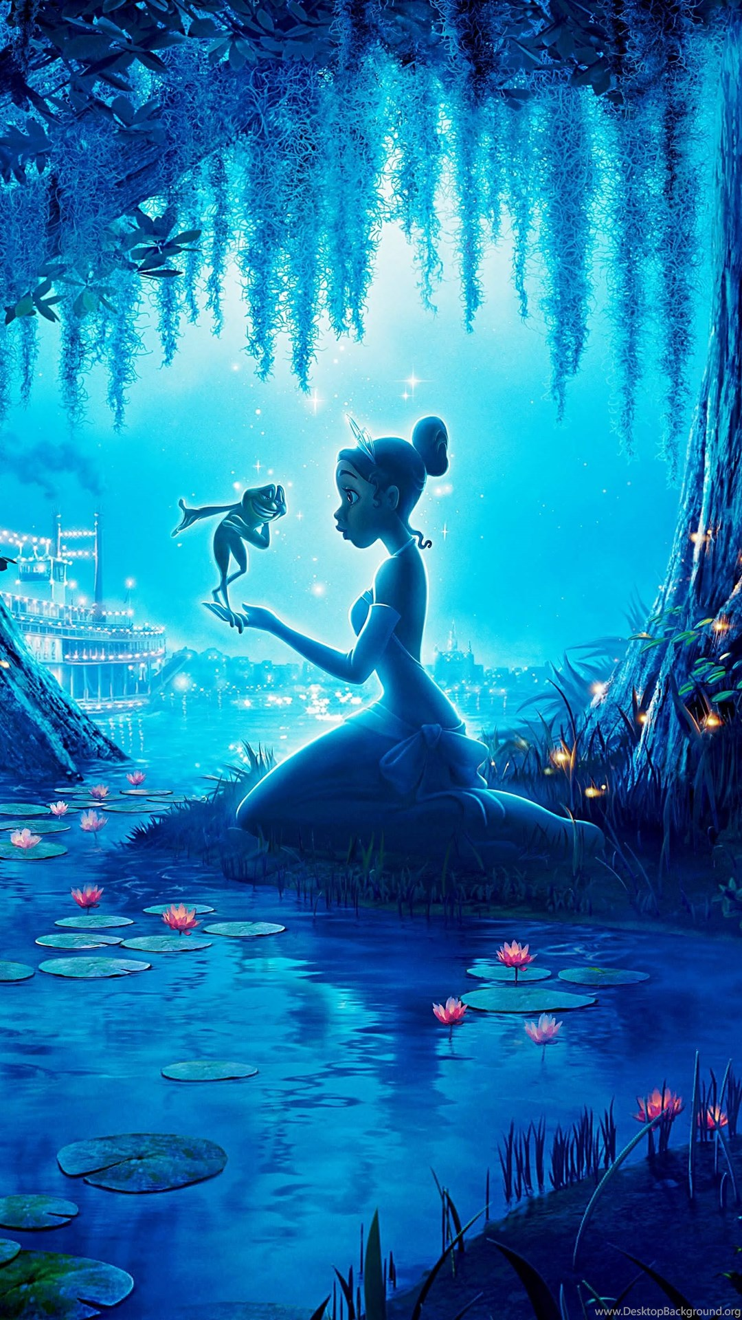 Princess And The Frog Animation Disney Family Fantasy