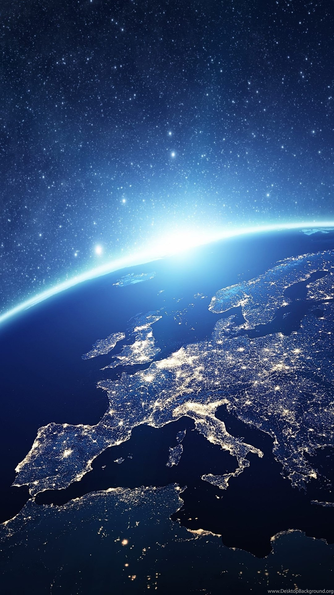 Earth view from space 4k wallpapers to see earth from - Space 4k phone wallpaper ...