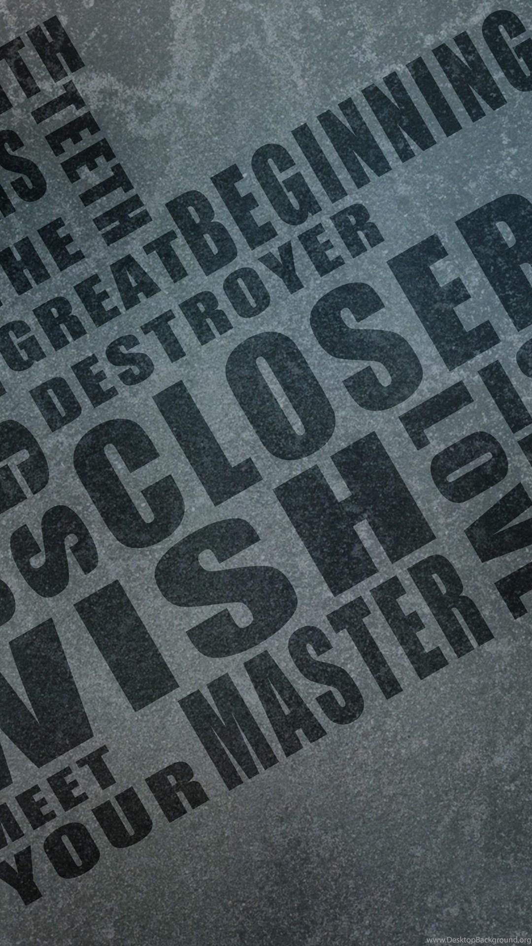 Nine Inch Nails Typography Wallpapers Desktop Background