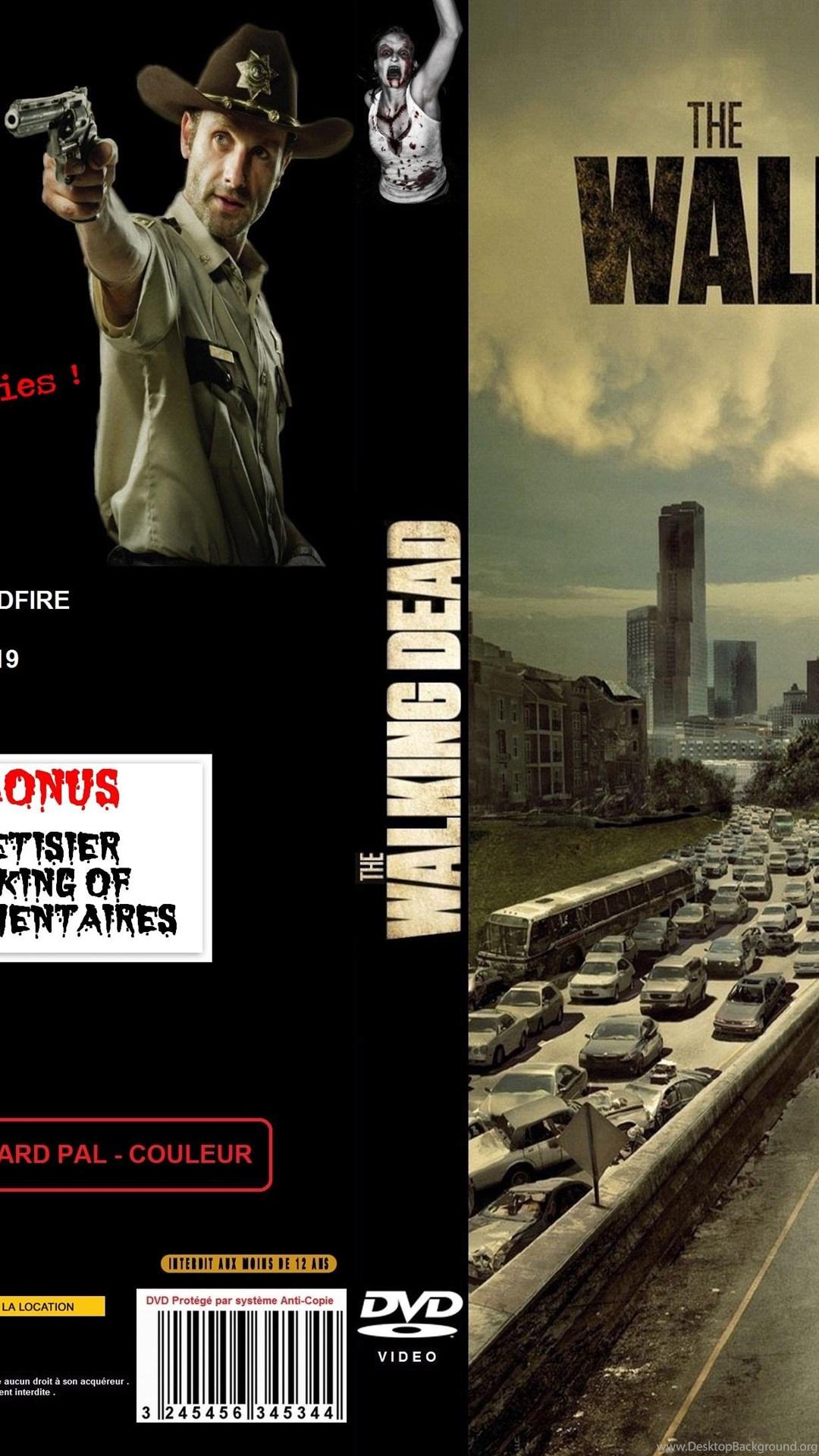 The Walking Dead Cover Wallpapers Desktop Background