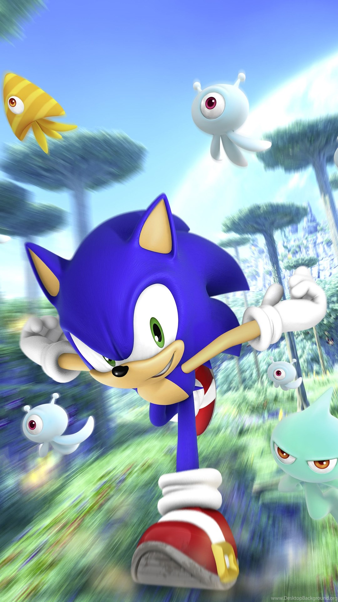 Sonic The Hedgehog Running Mobile HD Wallpapers Cool ...