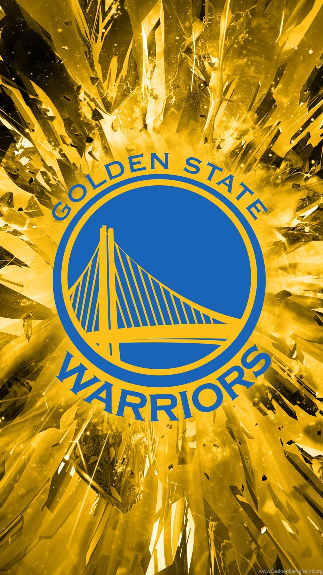 Golden State Warriors Logo 2014 Wallpaper Desktop Background