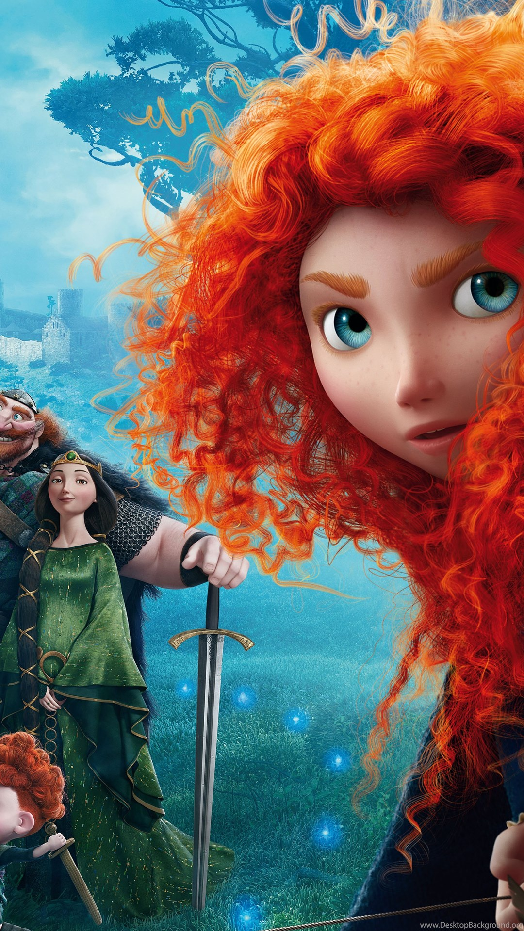 Disney brave movie cartoon widescreen wallpapers for - Cartoon wallpaper for tablet ...