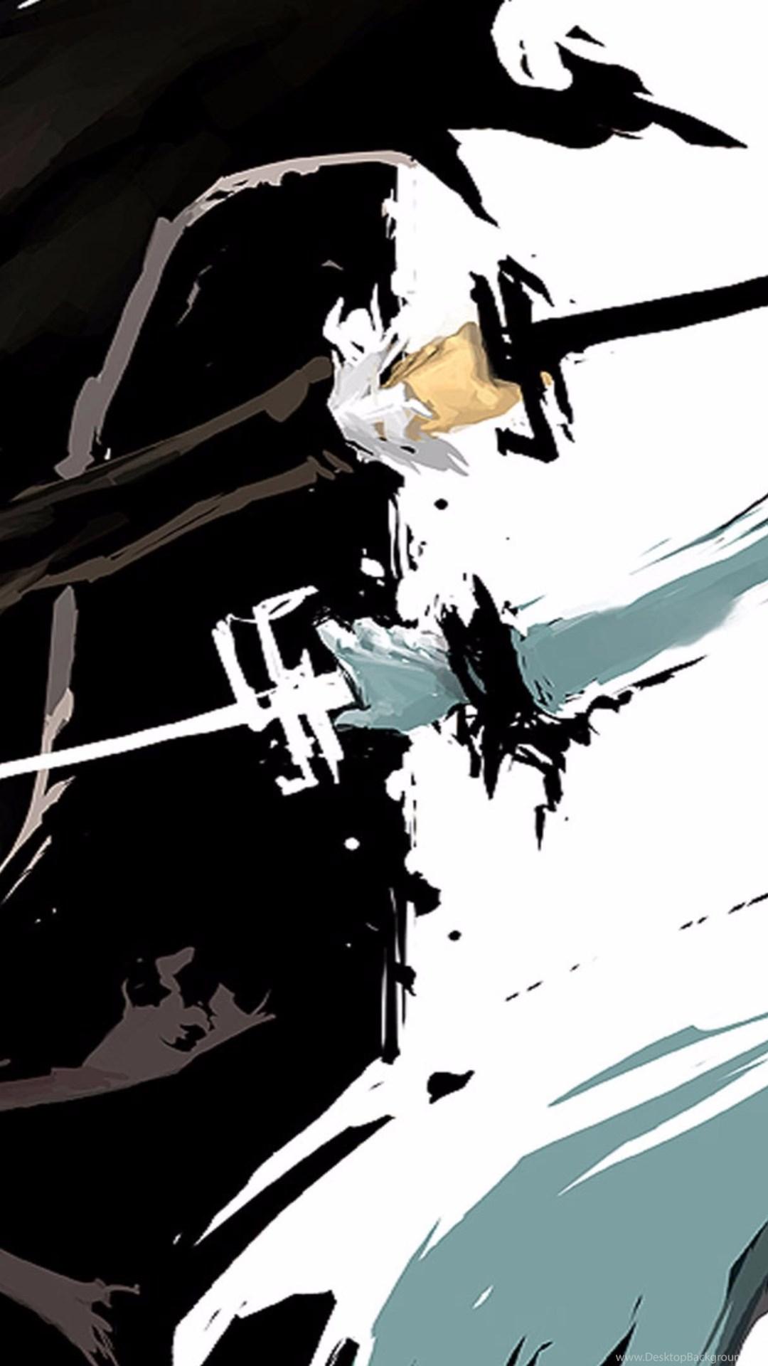 Black And White 2016 4K Anime Wallpapers Desktop Background