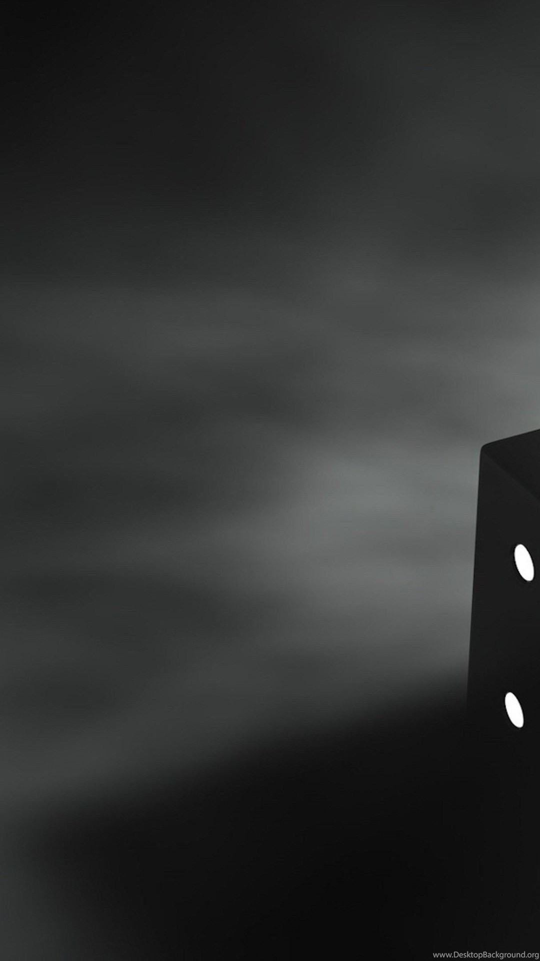 Black Dice 3D Ultra HD Wallpapers 4K