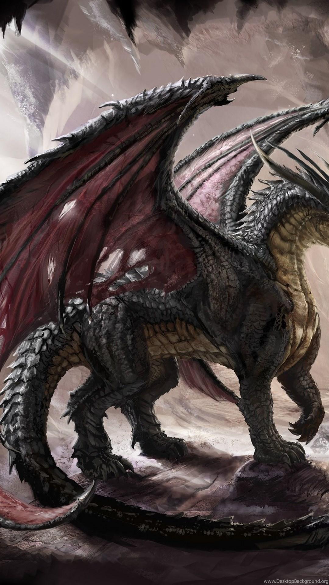Download Wallpapers 3840x2400 Dragon Cave Light Art