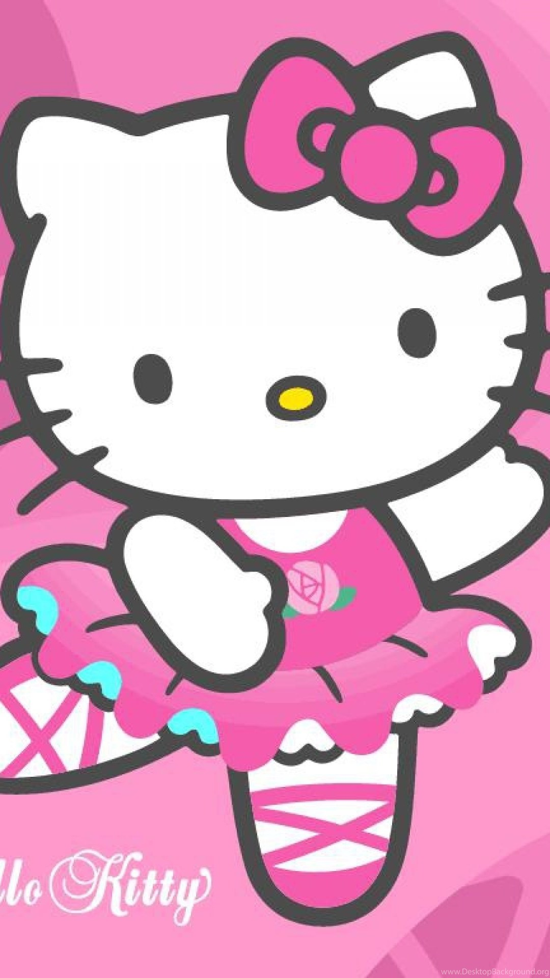 Hello Kitty Wallpapers Original Picture With Red And Pink