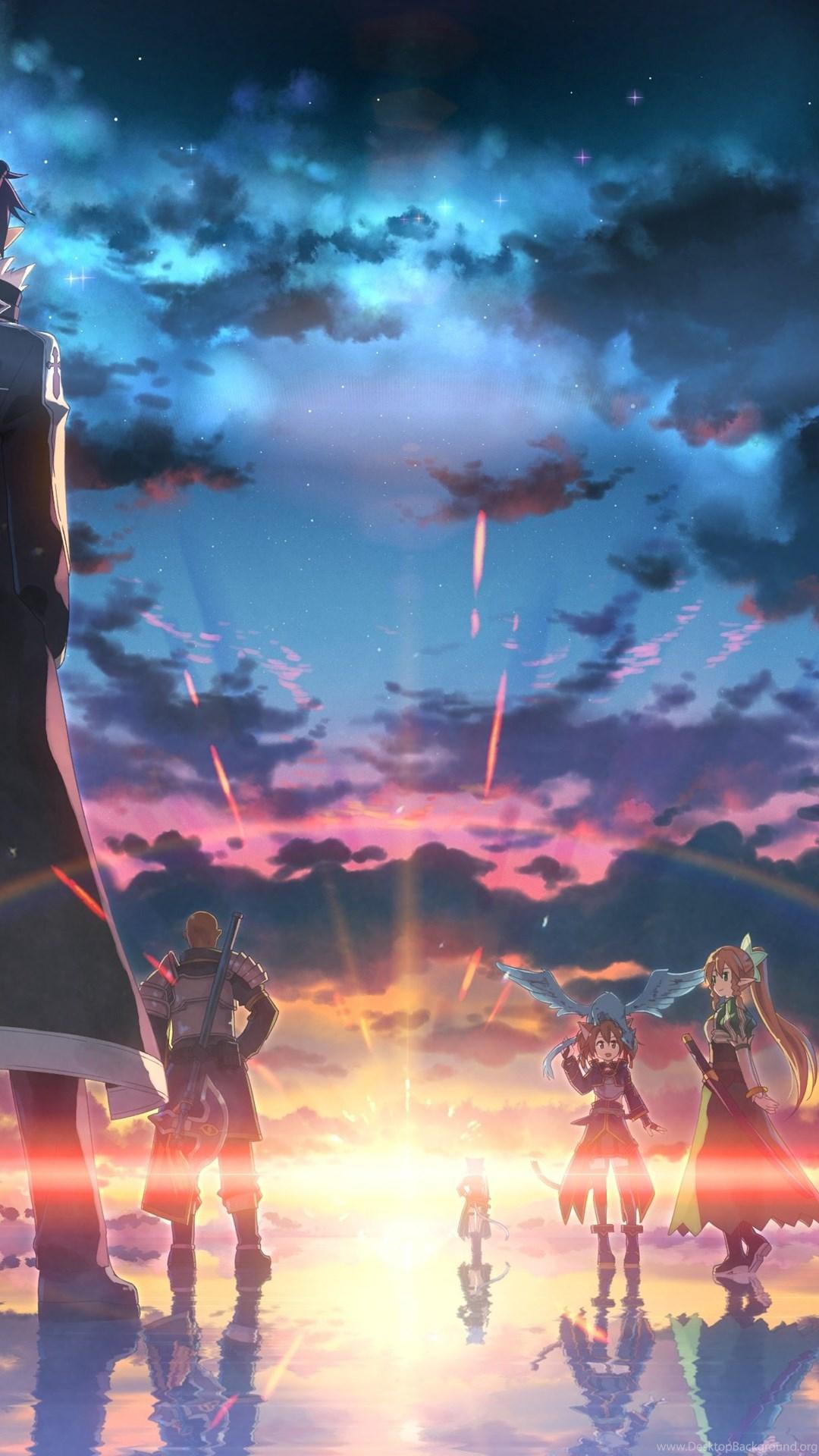 Free download sword art online sao computer wallpapers - Anime background wallpaper 4k ...