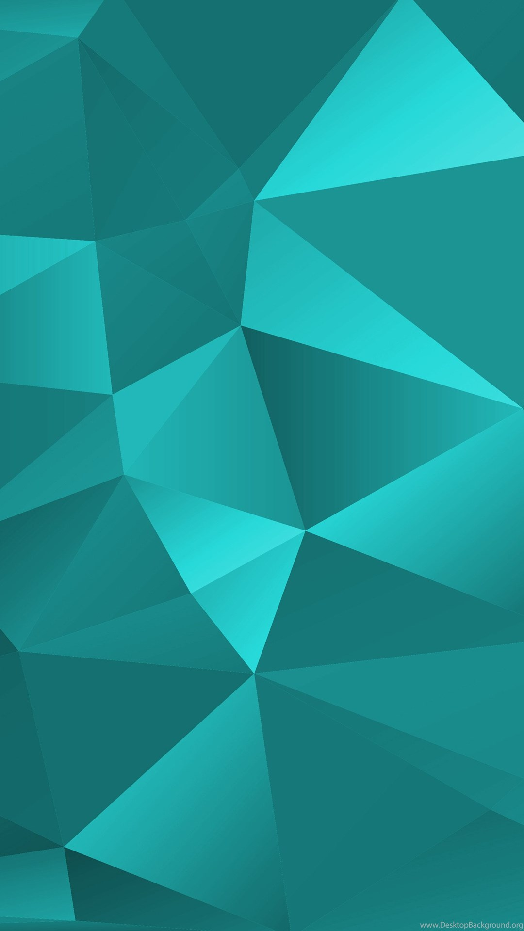 Turquoise Polygon Backgrounds Texturezine Desktop Background