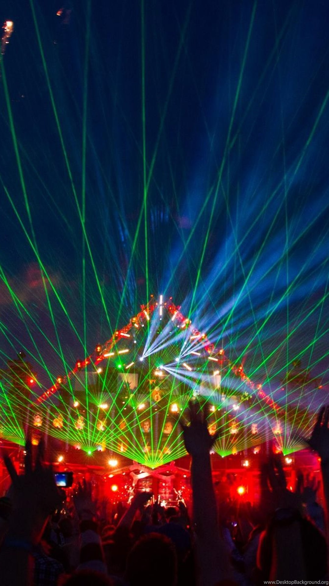 electro party iphone wallpapers desktop background
