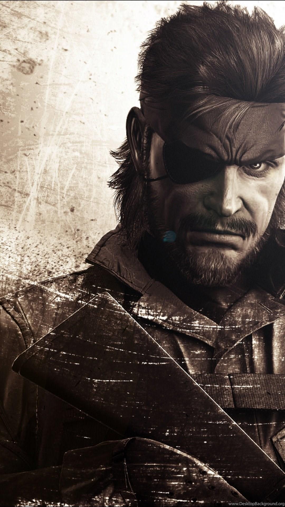 Metal Gear Solid Iphone Wallpapers Desktop Background