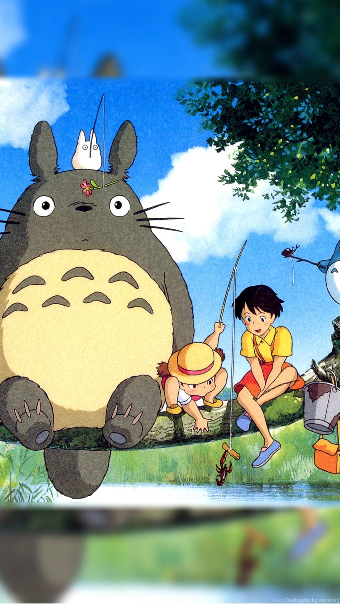 12 Quality My Neighbor Totoro Wallpapers Anime Amp Manga