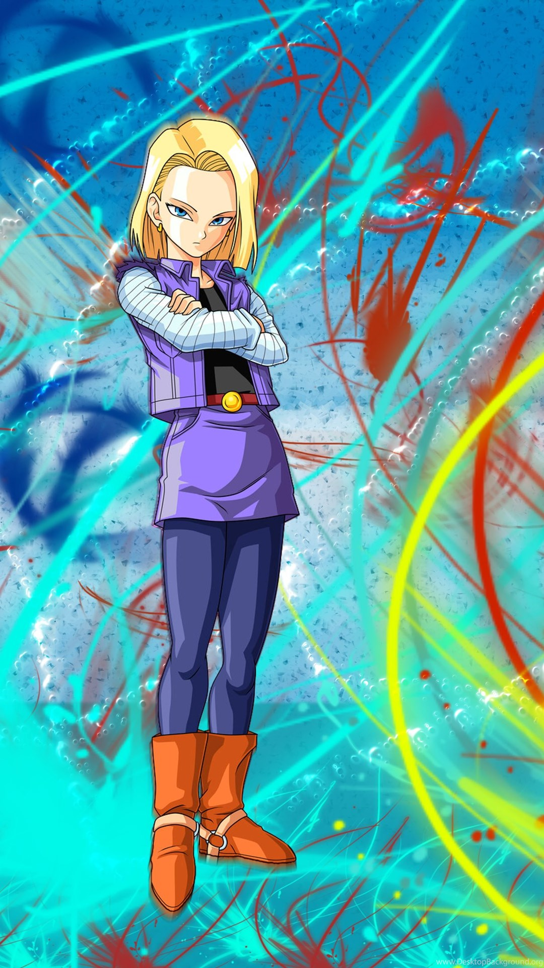 Android 18 Wallpapers By DragonsWarth18 On DeviantArt