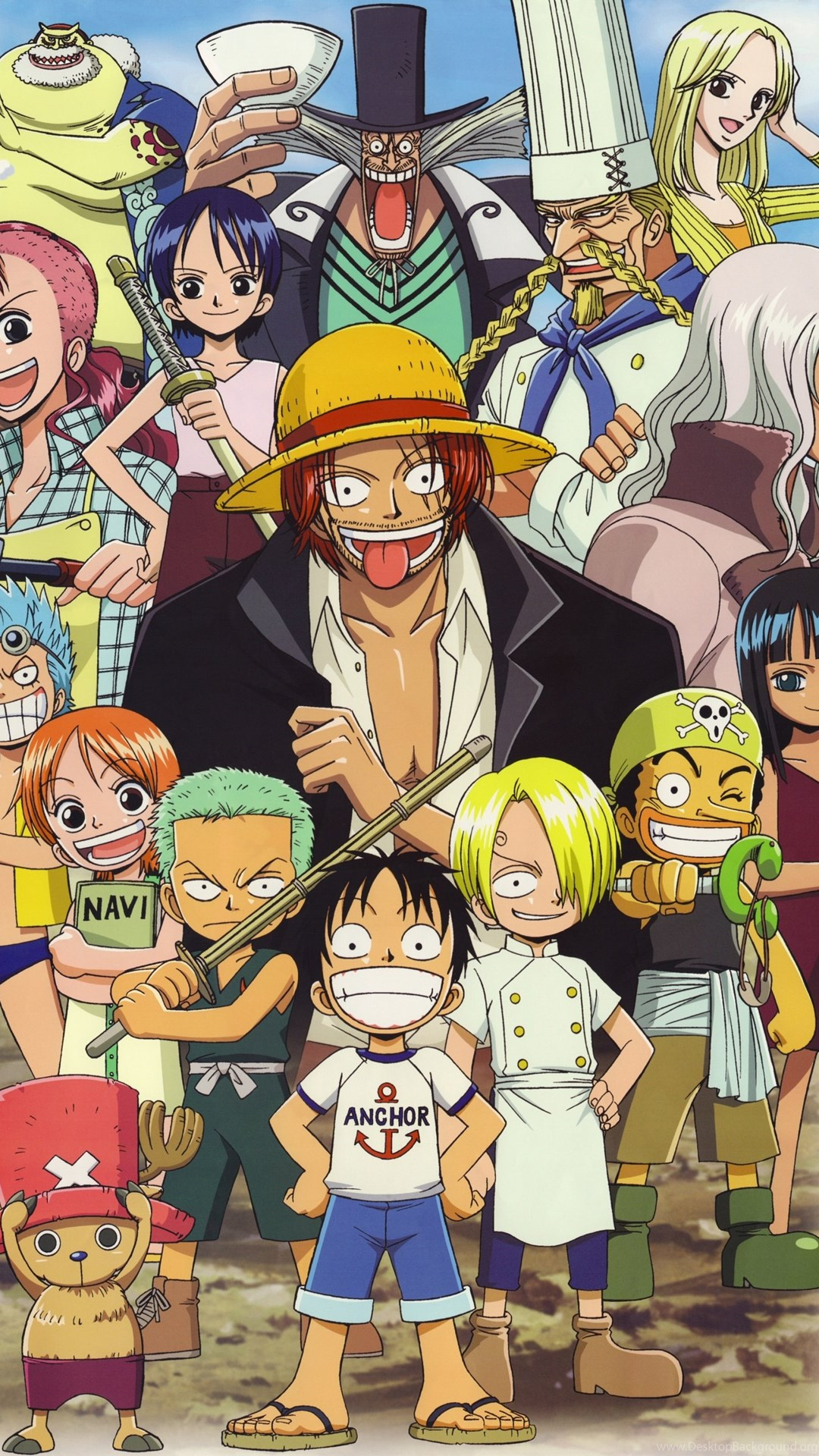 One Piece Wallpapers For Android Phone Hd Desktop Background