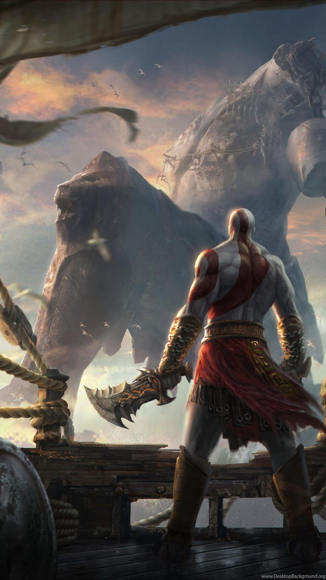 God Of War Ascension Monsters Wallpaper Desktop Background