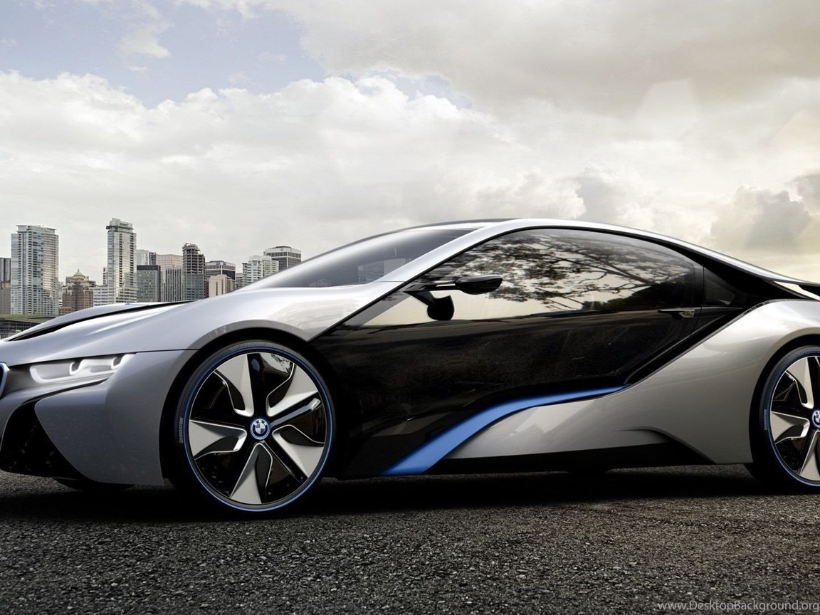 Download Wallpapers 1920x1080 Bmw I8 Concept Car Dark Full Hd