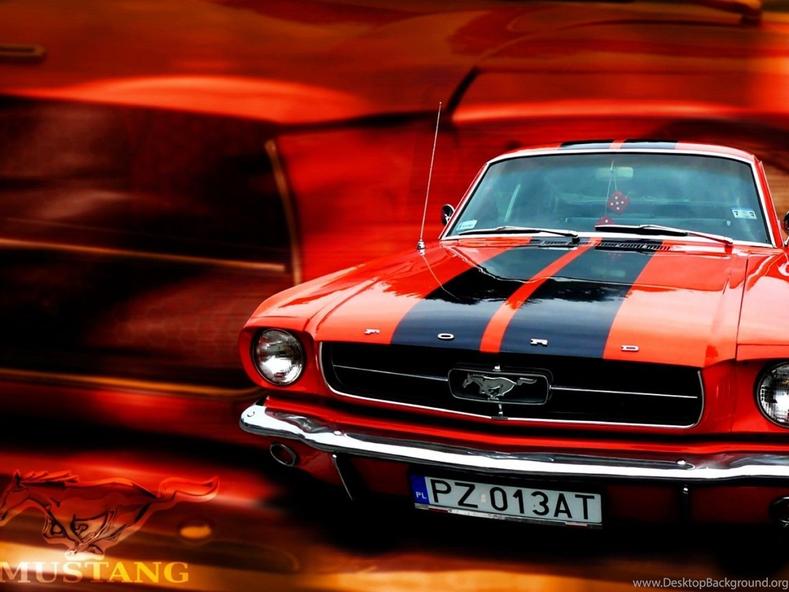 Red Ford Mustang Wallpapers HD Wallpaper Backgrounds Of ...