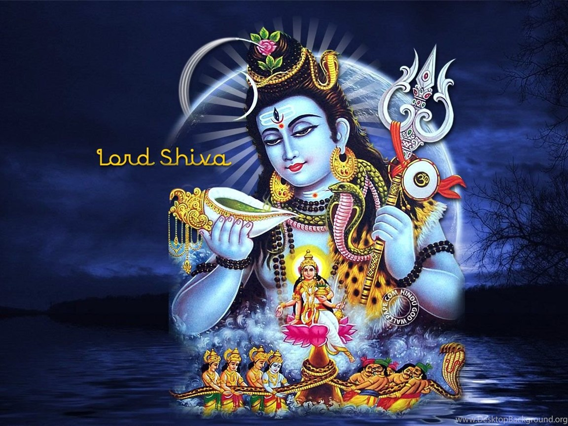 Lord Shiva Desktop Wallpapers Hd: Samudra Manthan Lord Shiva HD Wallpapers Desktop Background