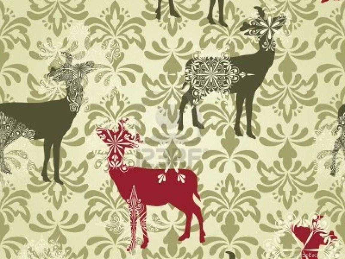 fullscreen - Vintage Christmas Wallpaper