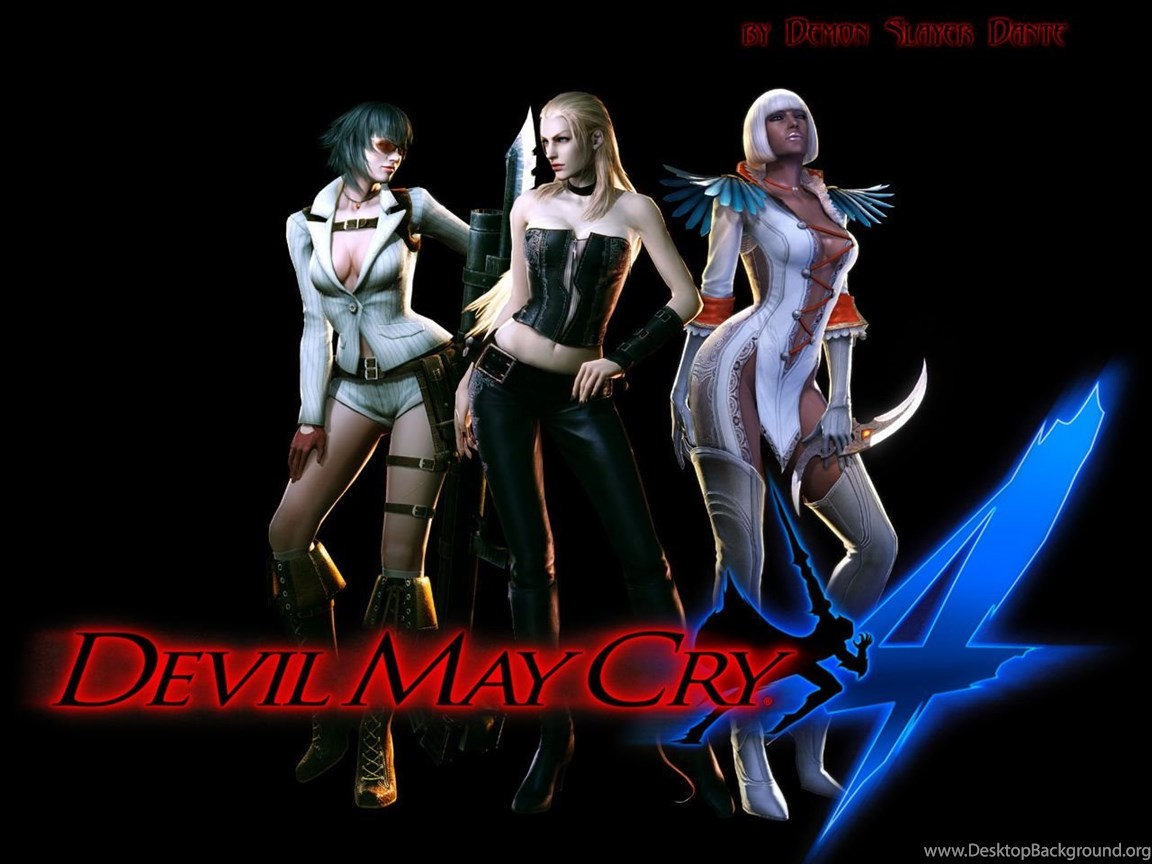 Wallpapers Devil May Cry Devil May Cry 4 Dante Games Image Desktop