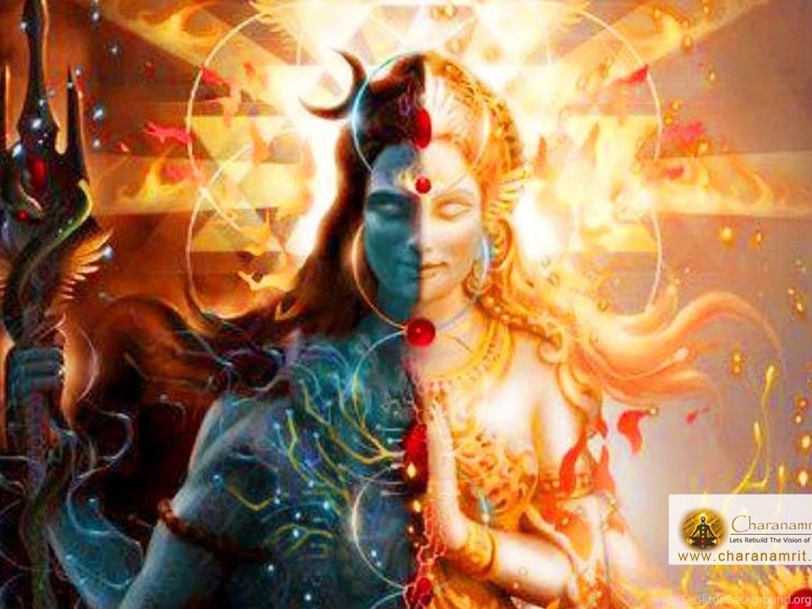 Lord Shiva As Ardhanareeswara Beautiful Hd Wallpapers For Free