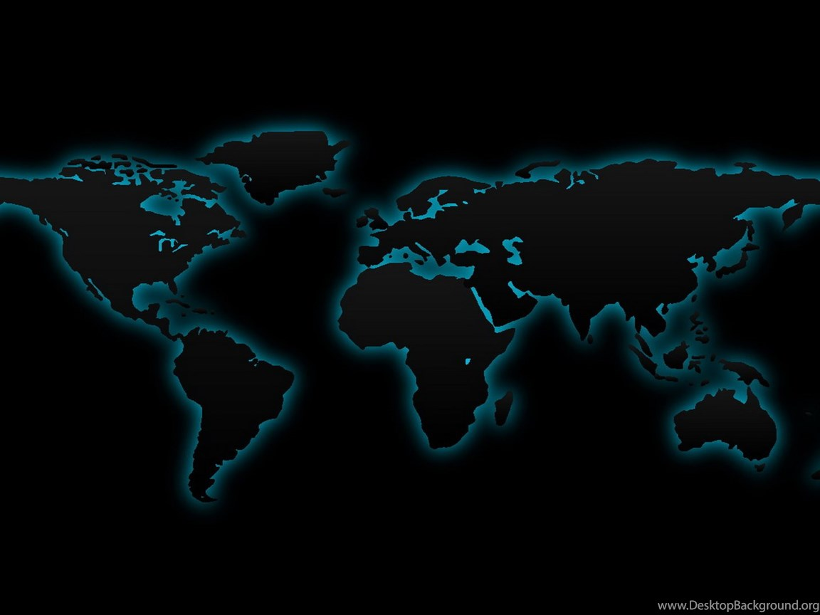 Digital World Maps on