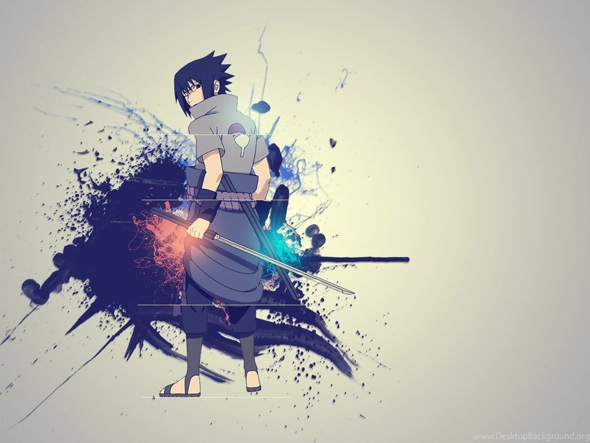 Naruto Sasuke Uchiha Hd Desktop Wallpapers A43 Desktop Background