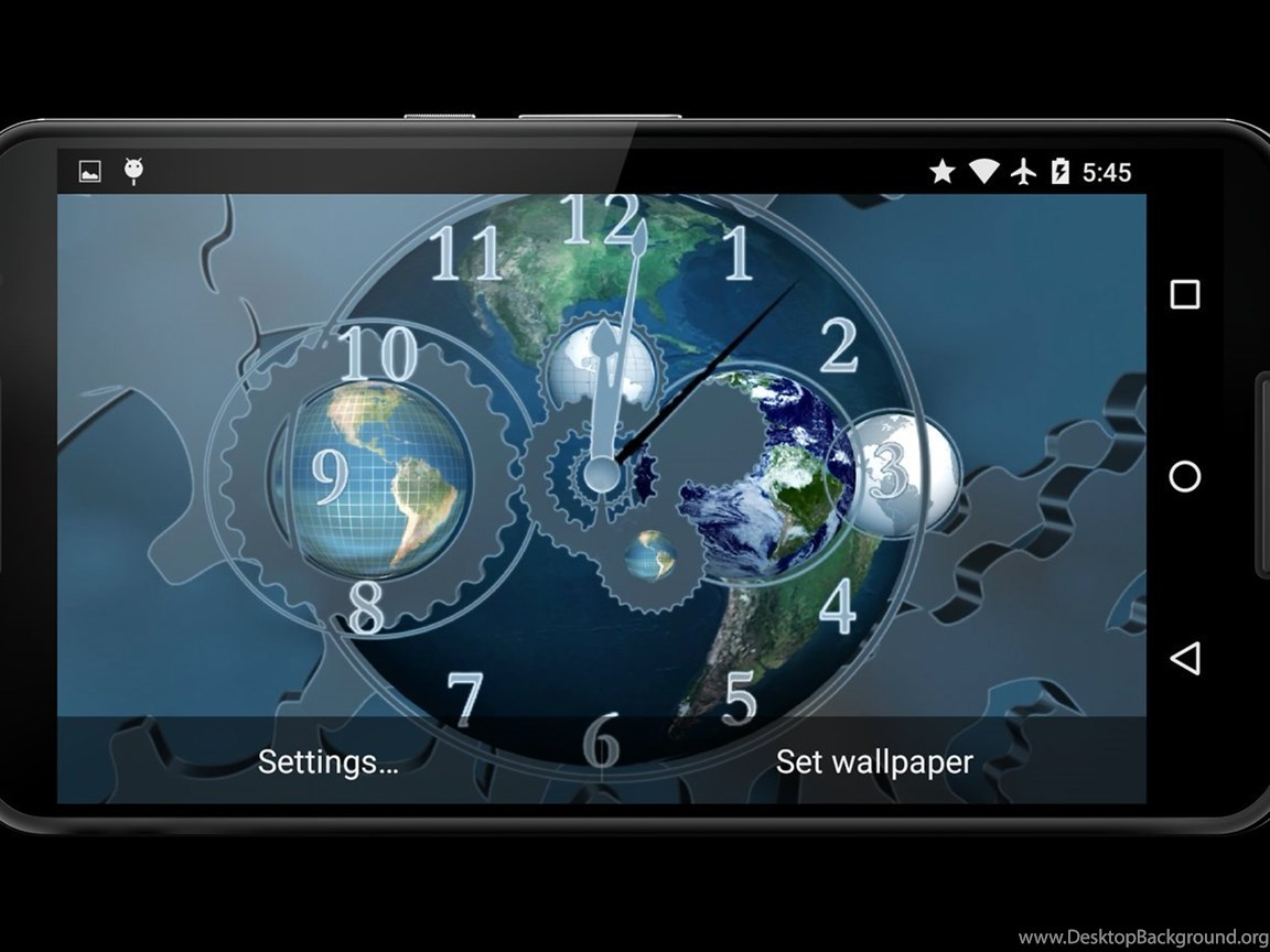 World Clock 3D Live Wallpapers Android Apps And Tests