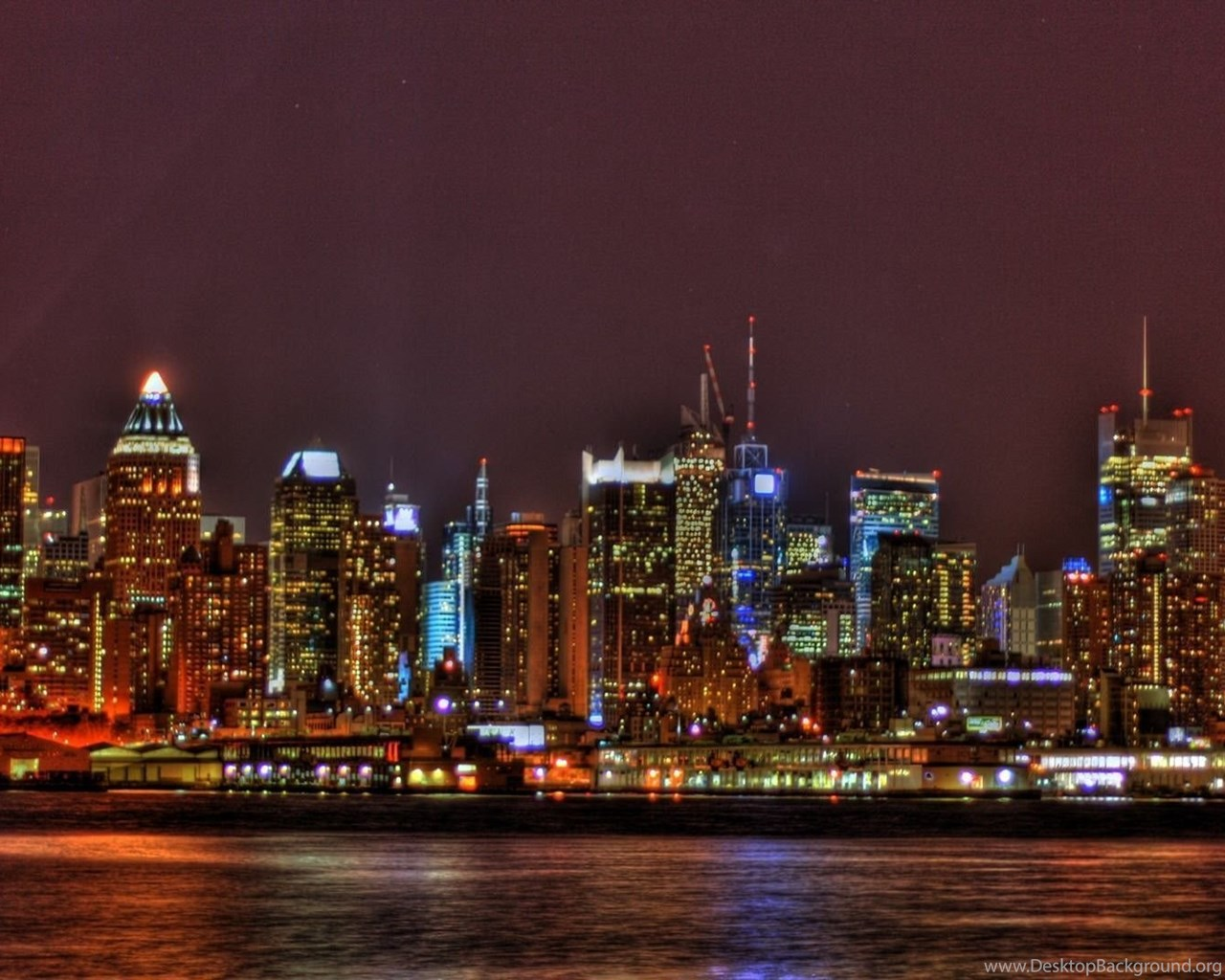 Skyline Of New York City Wallpapers Free Desktop Background
