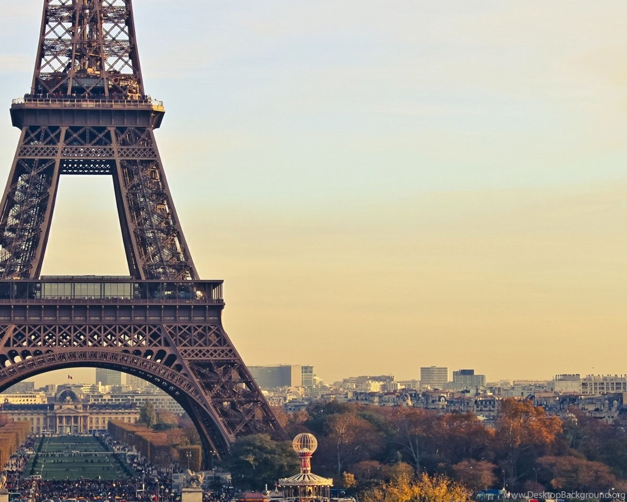 Eiffel tower paris background hd desktop - Paris eiffel tower desktop wallpaper ...