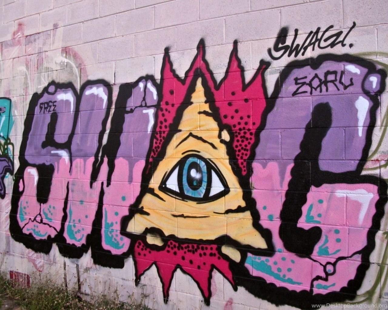 Download Nyc Graffiti Pic Illuminati Swag Free Wallpapers 1280x1025